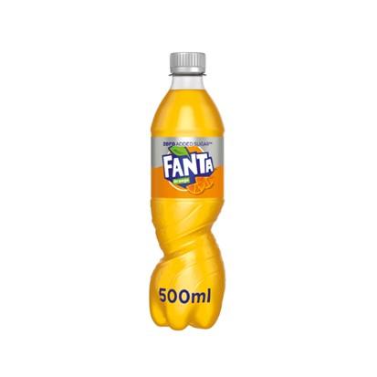 Fanta Orange Zero 0,5 L