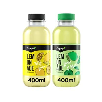 Cappy lemonade Happy lemon i Minty lemon 0,4 L