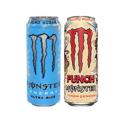 Energetski napitak Monster Pacific punch i Ultra blue 0,5 L