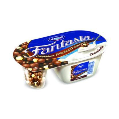 Jogurt Fantasia čokoladne kuglice Danone 100 g