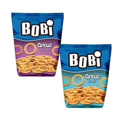 Grickalice Bobi Circus slani i sezam 100 g