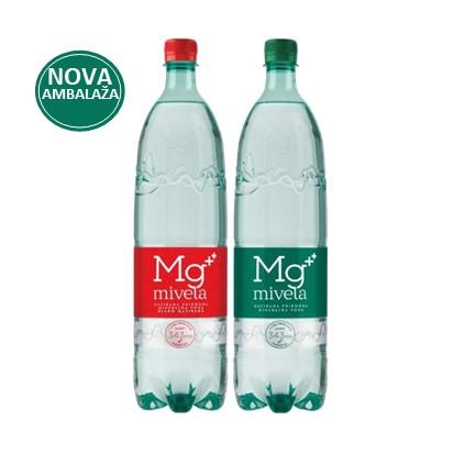 Mg Mivela gazirana i blago gazirana 1,35 L