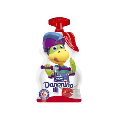 Jogurt Danonino TO GO jagoda Danone 70 g