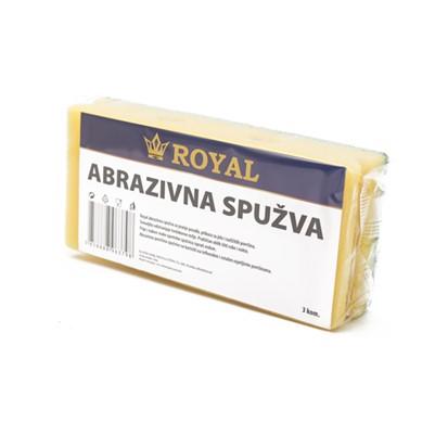 Abrazivna spužva za suđe Royal 3 komada