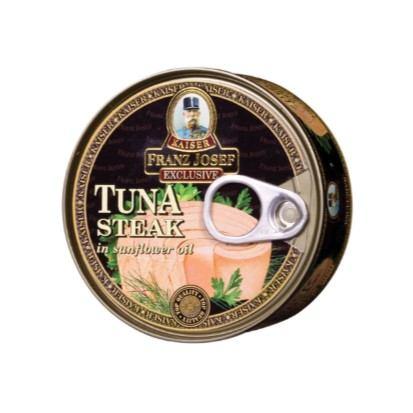 Tuna žutoperajna odrezak u ulju 170 g