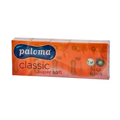 Papirnate maramice Paloma 3 slojne 10 komada