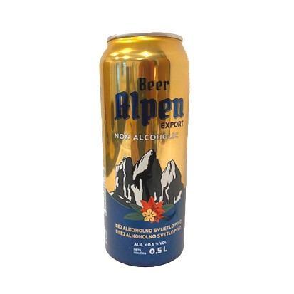 Pivo Alpen bezalkoholno 0,5 L