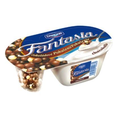 Jogurt Fantasia čoko kuglice 100 g